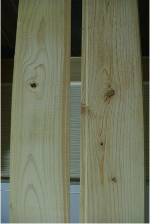 편백나무 루바(플로링, Flooring)/KBHoldings 편백나무(히노끼) 목자재